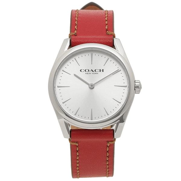 コーチ 腕時計 レディース 14503205 レッド COACH