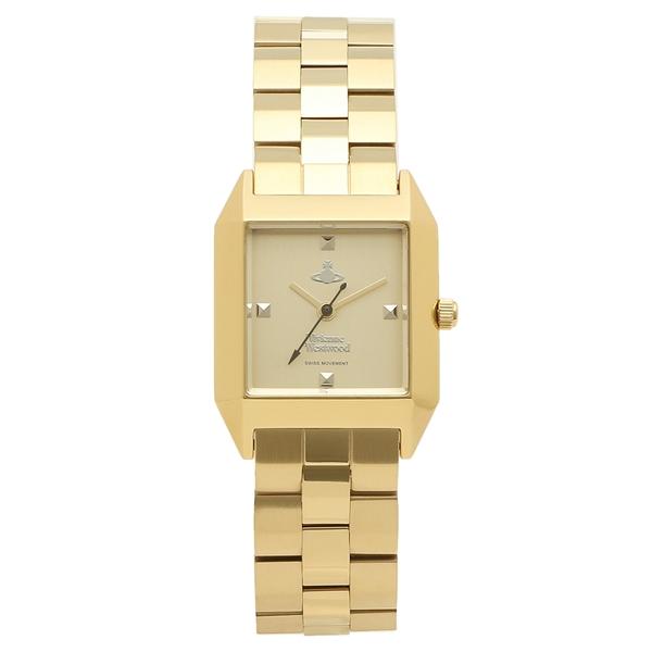 VIVIENNE WESTWOOD 腕時計 レディース ヴィヴィアンウエストウッド VV143GDGD イエローゴールド