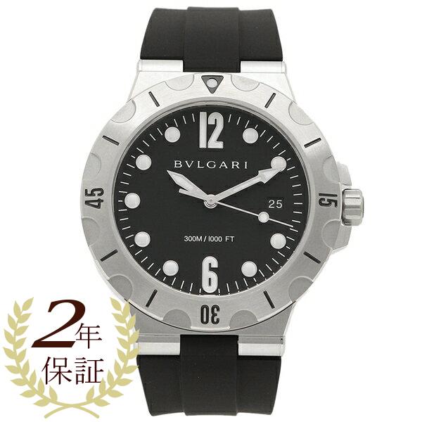 BVLGARI 腕時計 メンズ 自動巻き ブルガリ DP41BSVSD ブラック