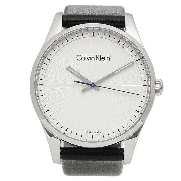 CALVIN KLEIN 腕時計 メンズ カルバンクライン K8S211.C6 ブラック