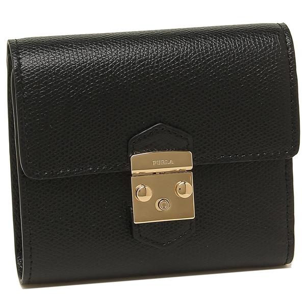 FURLA 折財布 レディース フルラ 1027796 PU28 ARE O60 ブラック