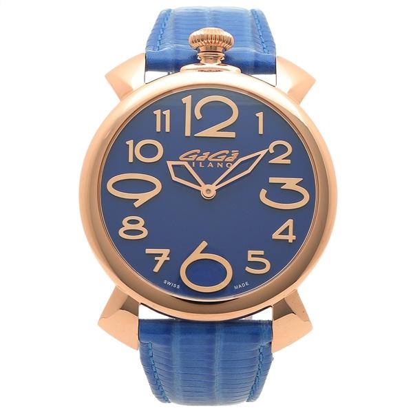 GAGA MILANO 腕時計 メンズ ガガミラノ 5091.07-LBU-N ブルー