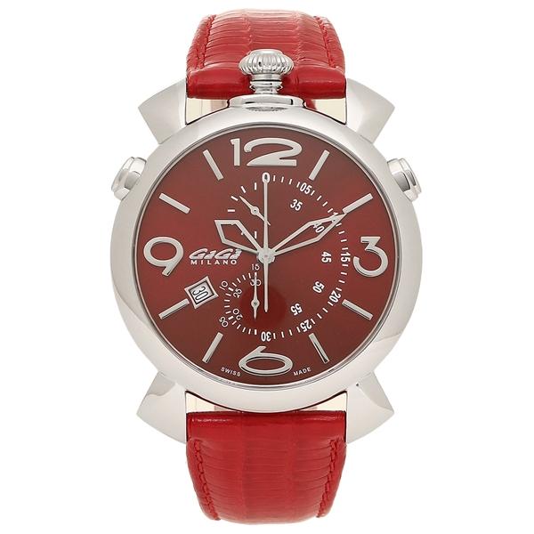 GAGA MILANO 腕時計 メンズ ガガミラノ 5097.04RD-NEW-N レッド