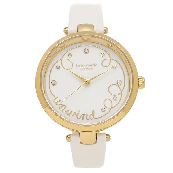 KATE SPADE 腕時計 レディース ケイトスペード KSW1510 ホワイト ゴールド