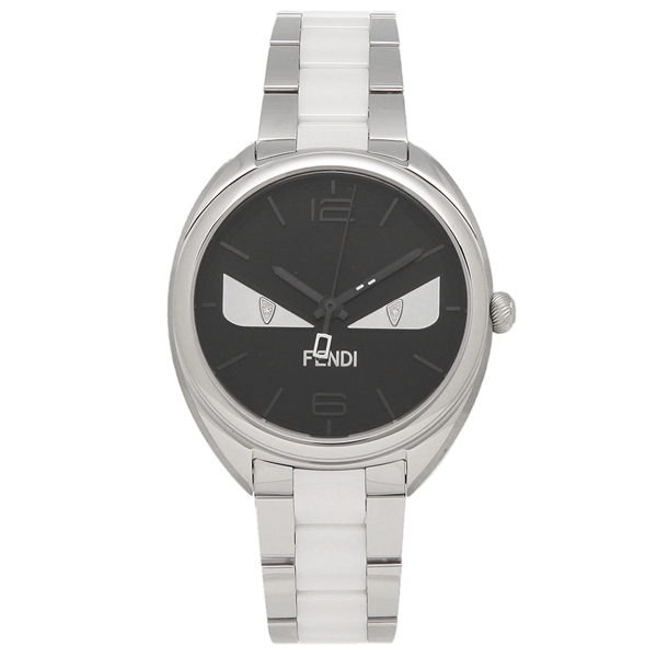 FENDI 腕時計 レディース メンズ フェンディ F216031004D1 シルバー ブラック