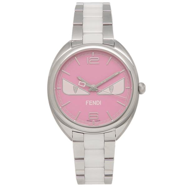 FENDI 腕時計 レディース メンズ フェンディ F216037204D1 シルバー ピンク