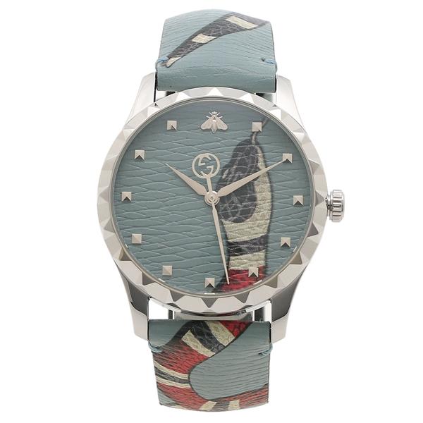 GUCCI 腕時計 レディース メンズ グッチ YA1264080 ブルー