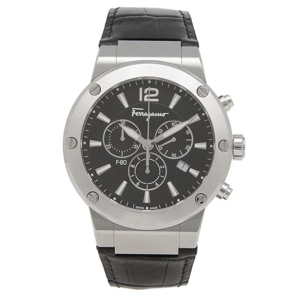 Salvatore Ferragamo 腕時計 メンズ フェラガモ SFEX00219 シルバー ブラック