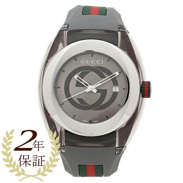 GUCCI 腕時計 レディース メンズ グッチ YA137109 グレー
