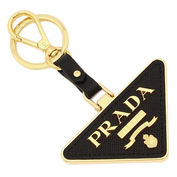 35%OFF PRADA キーリング レディース プラダ ブラック F0002 未使用 1TL380 2EWR
