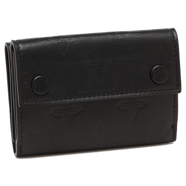 LOUIS VUITTON 折財布 メンズ ルイヴィトン M67631 ブラック