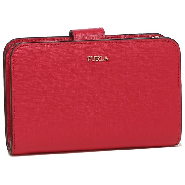FURLA 折財布 レディース フルラ 1046238 PR85 B30 TJ9 レッド