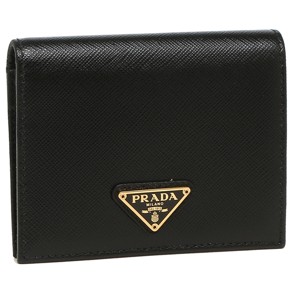 PRADA 折財布 レディース プラダ 1MV204 QHH 002 ブラック