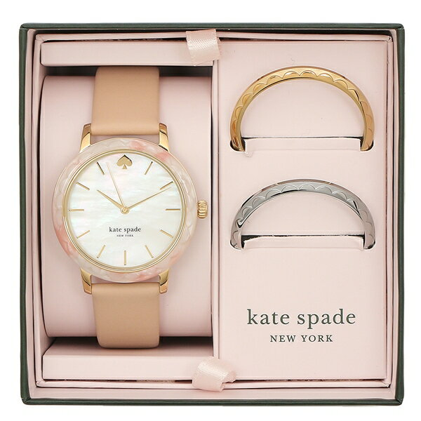 KATE SPADE 腕時計 レディース ケイトスペード KSW1520B ピンク ホワイト