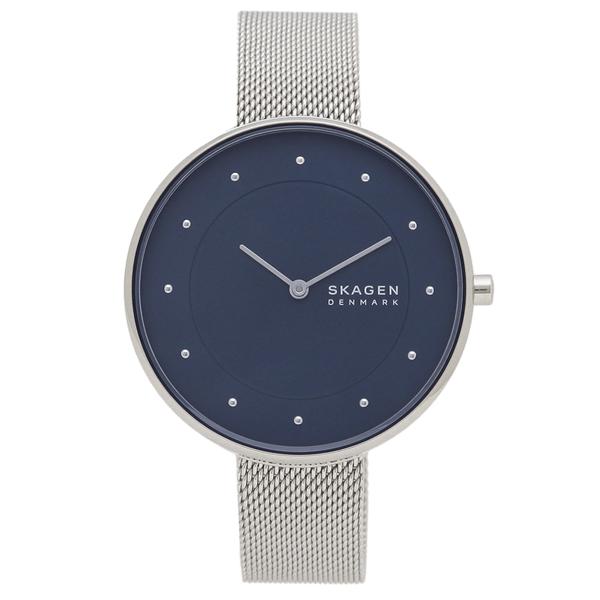 SKAGEN 腕時計 レディース スカーゲン SKW2809 シルバー ネイビー