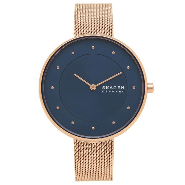 SKAGEN 腕時計 レディース スカーゲン SKW2811 ローズゴールド ネイビー