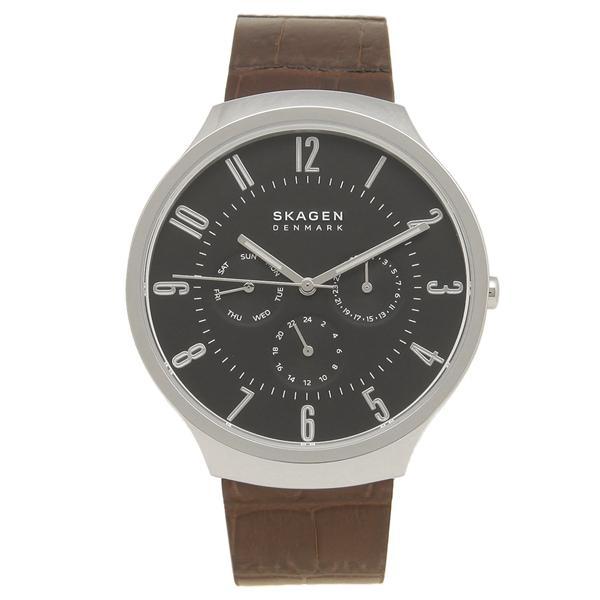 SKAGEN 腕時計 メンズ スカーゲン SKW6536 ブラウン ブラック