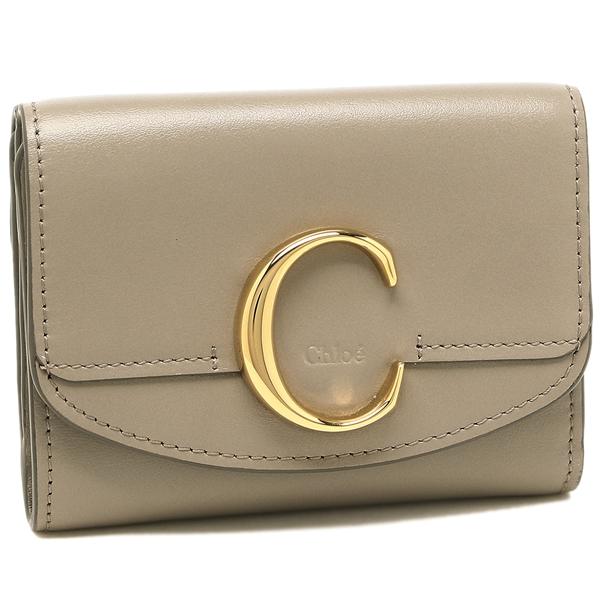 CHLOE 折財布 レディース クロエ CHC19WP088A37 23W グレー