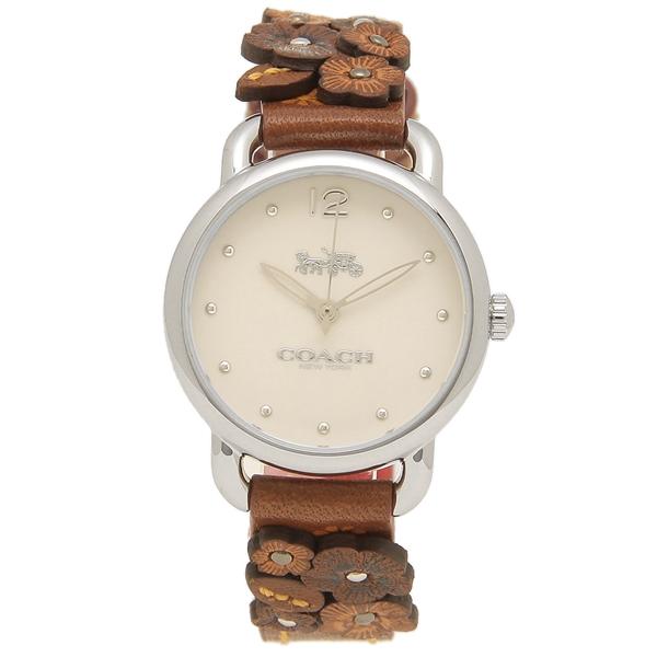 COACH 腕時計 レディース コーチ 14502761 ブラウン シルバー