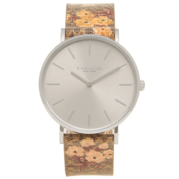 COACH 腕時計 レディース コーチ 14503298 シルバー ブラウン