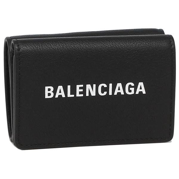 BALENCIAGA 折財布 レディース バレンシアガ 505055 DLQHN 1060 ブラック