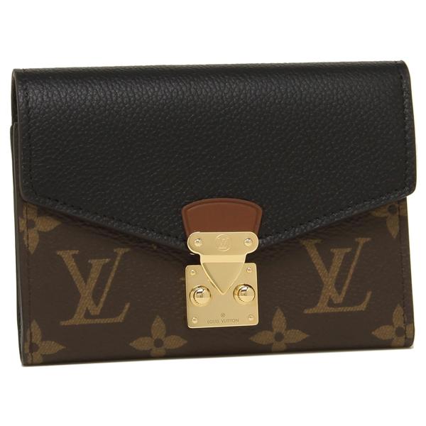 LOUIS VUITTON 折財布 レディース ルイヴィトン M67479 ブラウン ブラック