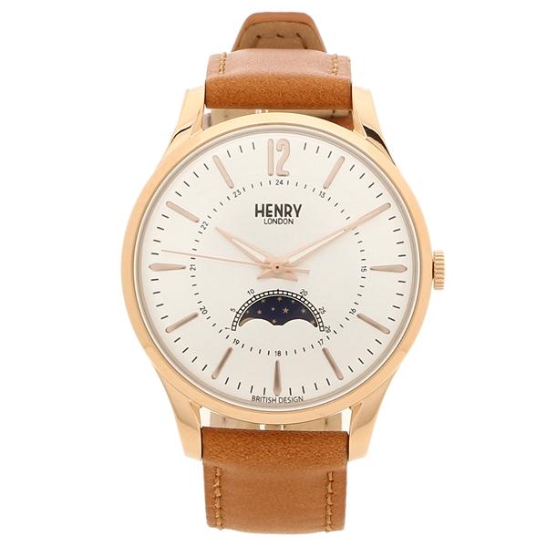HENRY LONDON 腕時計 レディース メンズ MARYLEBONE メリルボーン 34MM ヘンリーロンドン HL34-LS-0386 シルバー