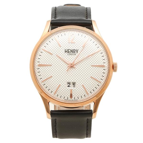 HENRY LONDON 腕時計 メンズ RICHMOND リッチモンド 41MM ヘンリーロンドン HL41-JS-0038 シルバー