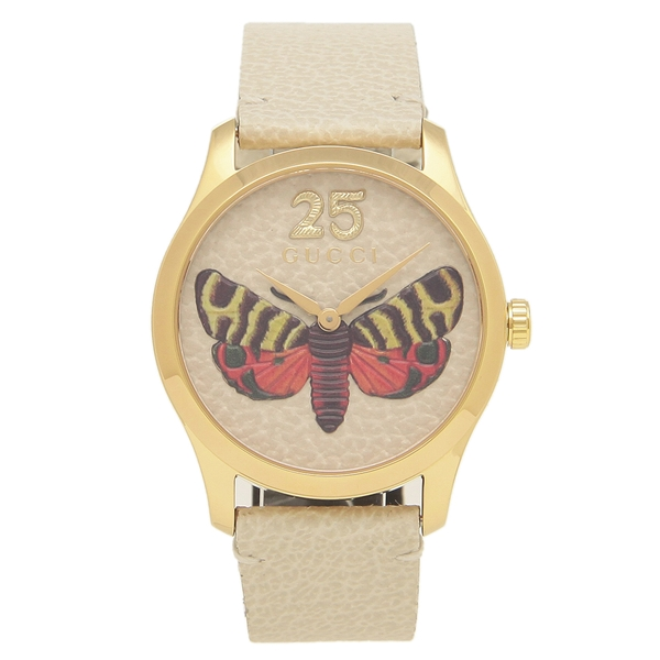 GUCCI 腕時計 レディース メンズG-TIMELESS G-タイムレス 38MM グッチ YA1264062 ベージュ マルチ