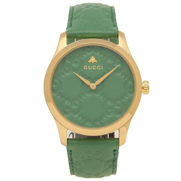 GUCCI 腕時計 レディース メンズG-TIMELESS G-タイムレス 38MM グッチ YA1264099 グリーン イエローゴールド