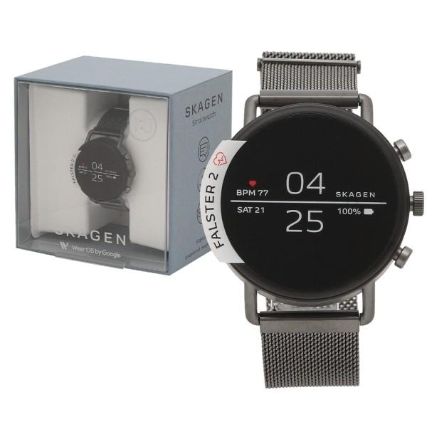 SKAGEN 腕時計 スマートウォッチ メンズ レディース スカーゲン SKT5105 グレー