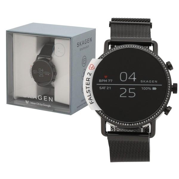 SKAGEN 腕時計 スマートウォッチ メンズ レディース スカーゲン SKT5109 ブラック