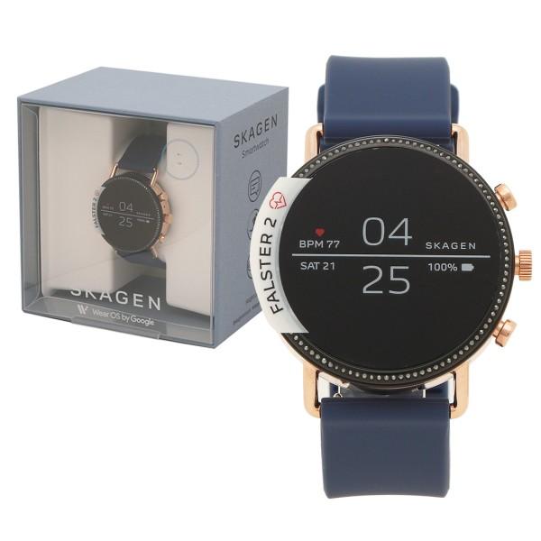 SKAGEN 腕時計 スマートウォッチ メンズ レディース スカーゲン SKT5110 ネイビー