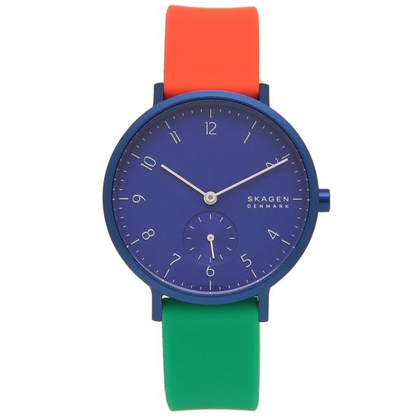 SKAGEN 腕時計 レディース スカーゲン SKW2849 ブルー マルチ
