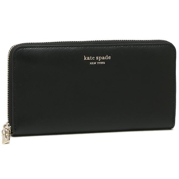 KATE SPADE 長財布 レディース ケイトスペード PWRU7750 001 ブラック