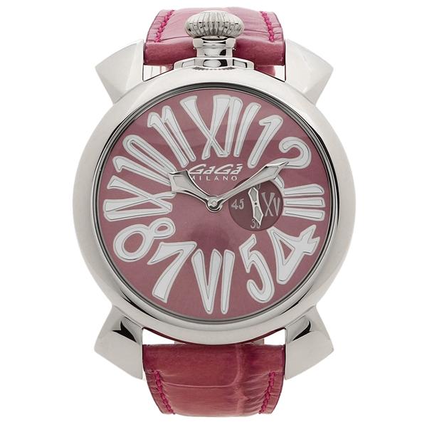 GAGA MILANO 腕時計 レディース メンズ ガガミラノ 5084.06 46MM ピンク