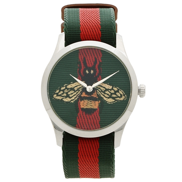GUCCI 腕時計 レディース メンズ グッチ YA1264060 38MM グリーン レッド マルチ