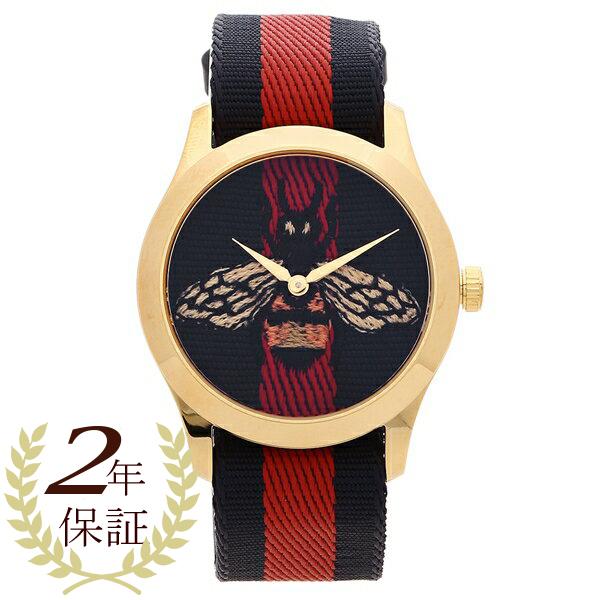 GUCCI 腕時計 レディース グッチ YA1264061 38MM ブルー レッド マルチ