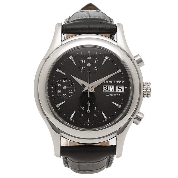 HAMILTON 腕時計 メンズ ハミルトン H18516731 38MM ブラック シルバー