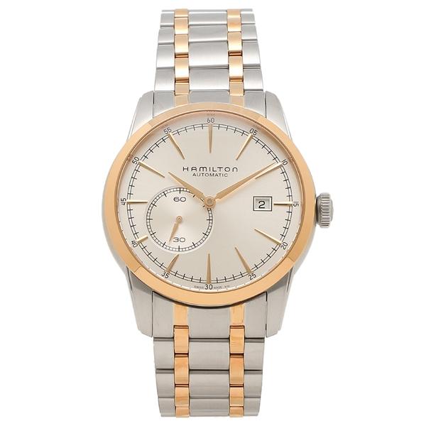 HAMILTON 腕時計 メンズ ハミルトン H40525151 42MM シルバー ピンクゴールド