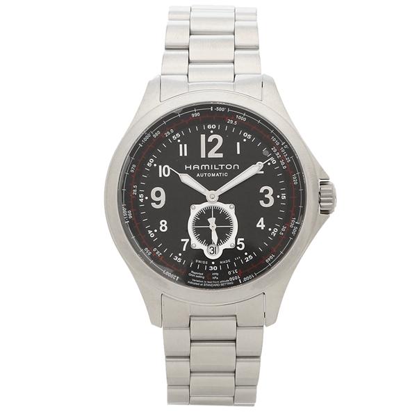 HAMILTON 腕時計 メンズ ハミルトン H76655133 42MM シルバー ブラック