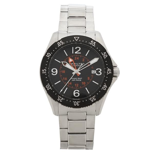 HAMILTON 腕時計 メンズ ハミルトン H76755131 44MM シルバー ブラック