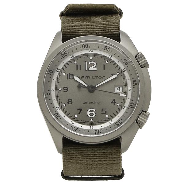 HAMILTON 腕時計 メンズ ハミルトン H80405865 41MM グリーン