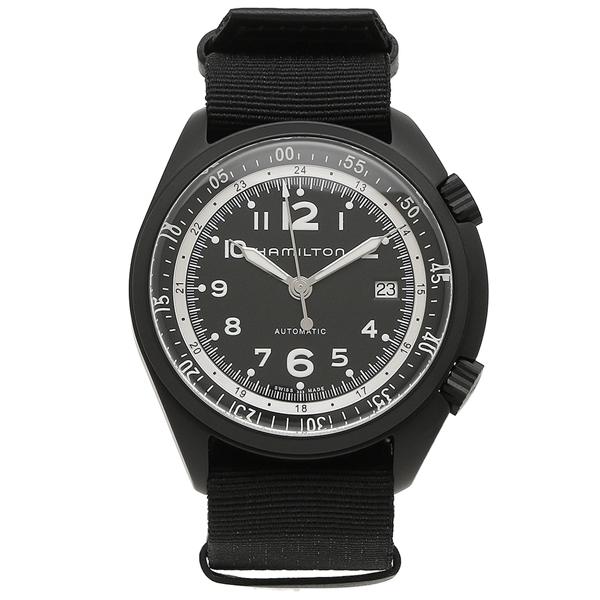 HAMILTON 腕時計 メンズ ハミルトン H80485835 41MM ブラック