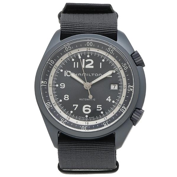 HAMILTON 腕時計 メンズ ハミルトン H80495845 41MM ブルー ネイビー