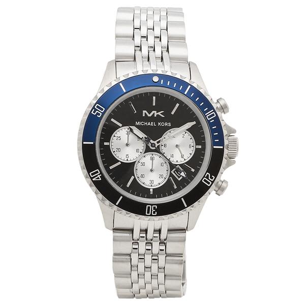 MICHAEL KORS 腕時計 メンズ マイケルコース MK8749 44MM シルバー ブラック