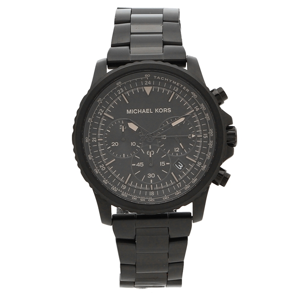MICHAEL KORS 腕時計 メンズ マイケルコース MK8755 42MM ブラック