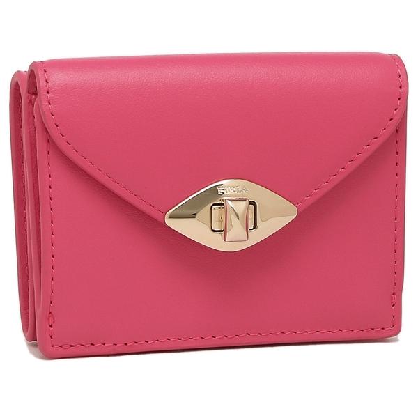 FURLA 折財布 レディース フルラ 1046923 PCU4 SLL TJA ピンク