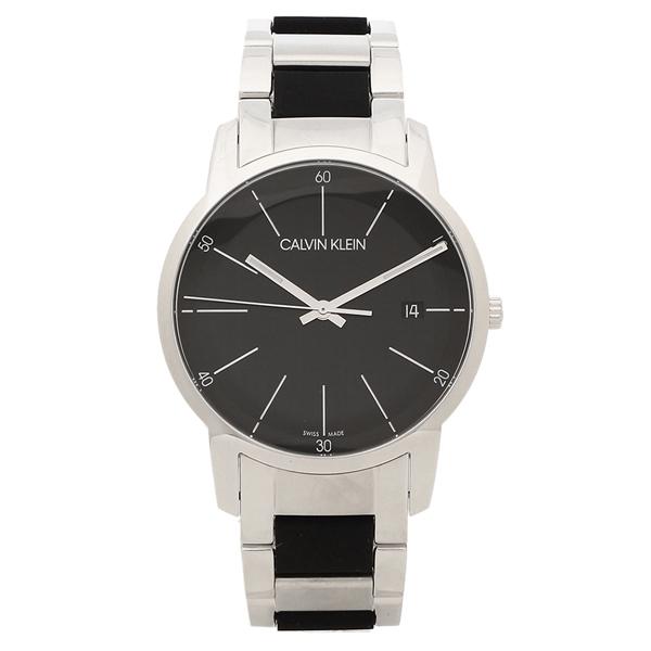 CALVIN KLEIN 腕時計 メンズ カルバンクライン K2G2G1B1 43MM シルバー ブラック