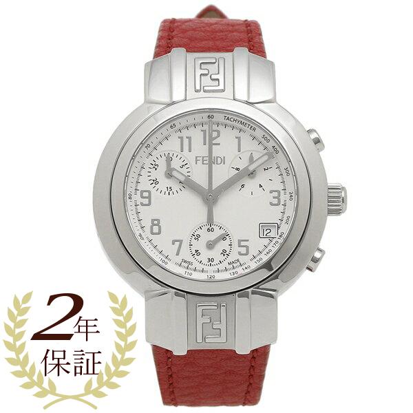 FENDI 腕時計 レディース フェンディ F112100102 32MM ホワイト レッド